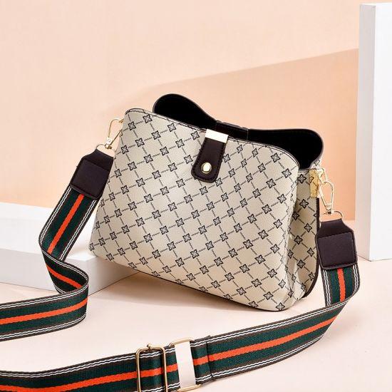 Diamond and Beads Embroidery Design Evening Handbag / Ladies Wedding Handbag /Envelope Handbag with Detchable Long Shoulder Strape (CX19280)