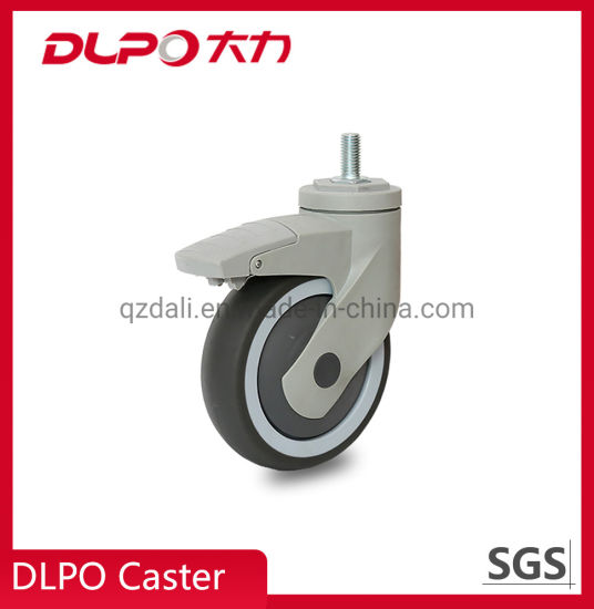 Medical Casters/Wheels with Brake Mute Wearable for Ventilator
