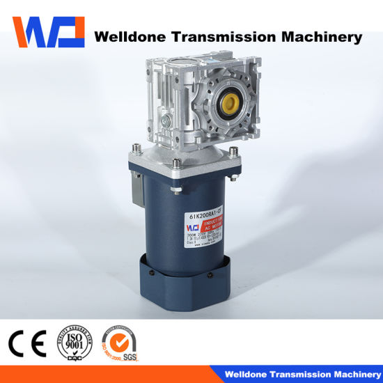 Low Voltage AC Right Angle Gear Motor for Transmission/ Brushless