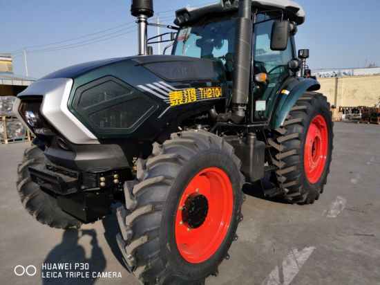 Made in China 210HP 4WD 4X4 Wheel Walking Tractor Agricultural Machinery Compact Lawn Farm Tractors