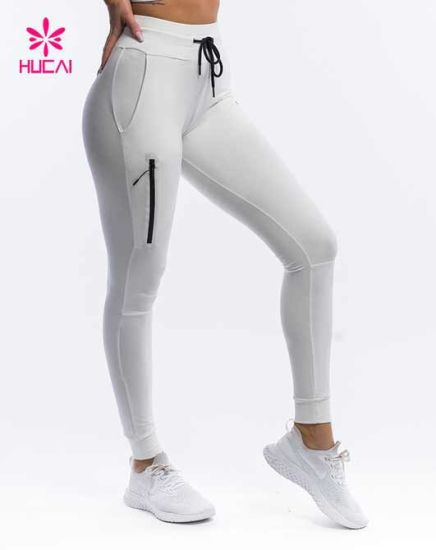 Custom Tapered Fit Fitness Wear Women Sport Trousers