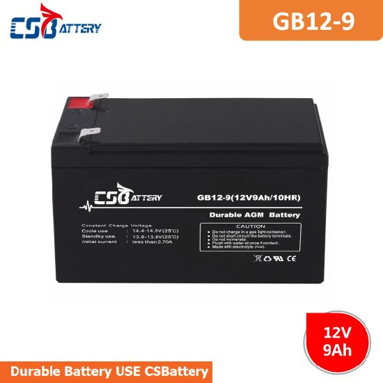 Csbattery 12V9ah AGM Inverter Battery for Power-Tools China Supplier