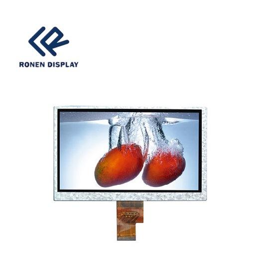 7.0 Inch 40 Pin LCD Display 1024X600 TFT LCD Screen