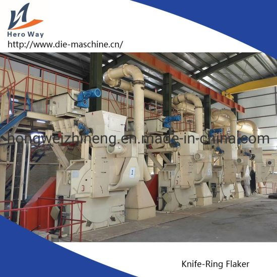 Flaker Machine with Knife Ring pictures & photos