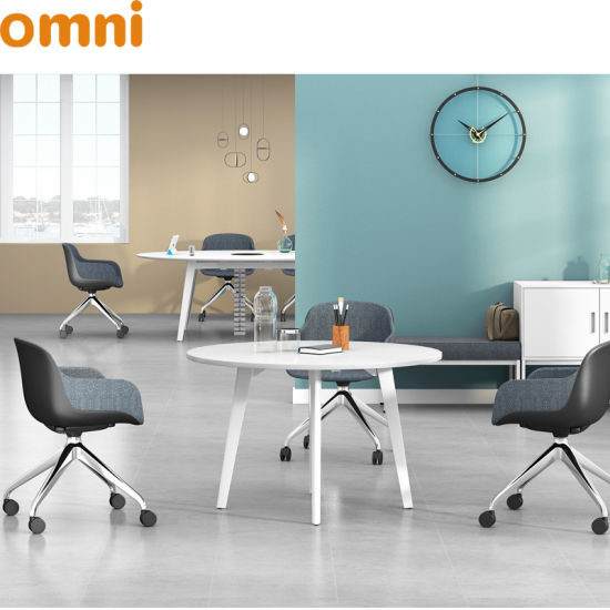 Small Round Office Table And Chairs Set