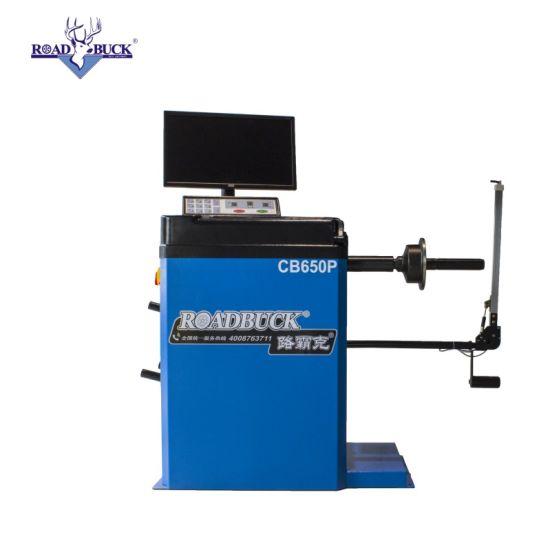 Customized Garage Shop Digital PC System Wheel Balancer