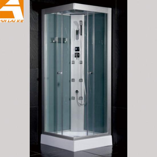 Modern Bathroom Massage Shower Cabin, Small Glass Shower Cabin (KF-T003)