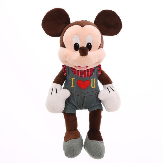 Custom Cartoon Mouse Hot Sale Plush Minnie Toy