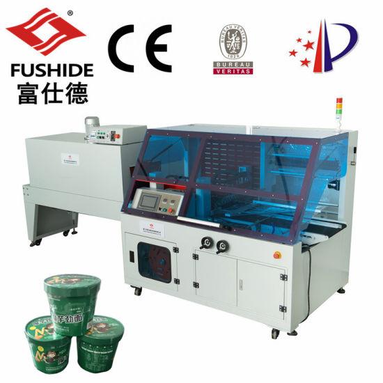 Instant/Fast Food/Noodles POF Shrink Film Full Automatic Heat Shrink/Shrinkable/Shrinking Packing/Packaging/Pack/Wrap/Wrapping Machine/Machinery Packing Line