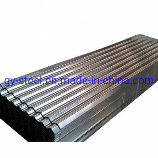 Corrugated Metal Roofing 14 Gauge Galvanized Steel Sheet