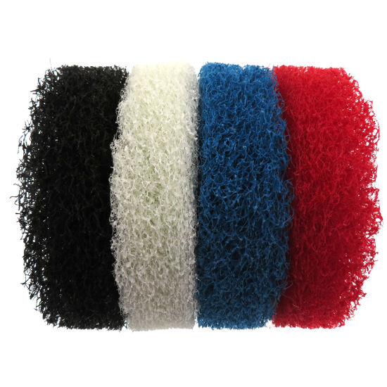 4 Inch 100mm Round Scrub Pad Scouring Pad Nylon Cleaning Cloth White/Red/Black/Blue