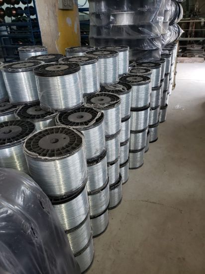 ASTM A475 Galvanized Steel Wire / Stay Wire