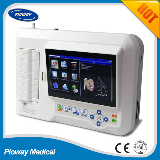 Six Channel ECG Machine China (ECG600G)