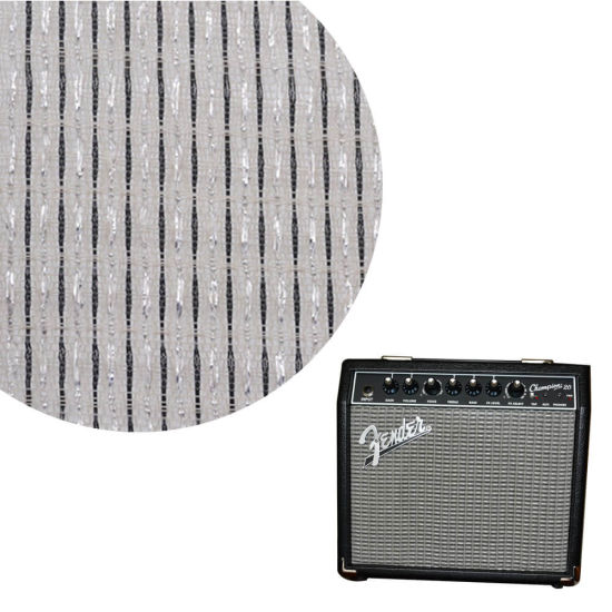 Custom Square 18 Inch Paper Mesh Fabric Cover Net Speaker Grill Cloth for Fender Bluetooth Box