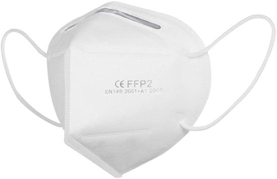Stock Anti-Virus/Germ Ffp1/2/3 Ear-Loop/Tie up Disposable 3 Ply/Layers Breathable Medical/Surgical Fabric Respirator Protective Filter Face Mask