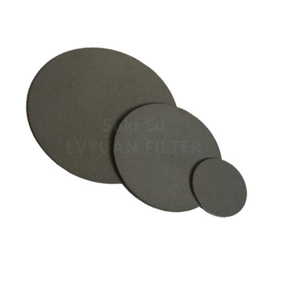 Various Dimension Porous Sintered Titanium Plate Metal Powder Sintering Filter Disc for Water Filter Discs Disk Aerator