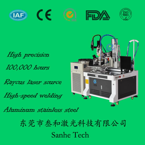 Laser Equipment Manufacture Continuous Fiber Laser Welder Stainless Steel Welding