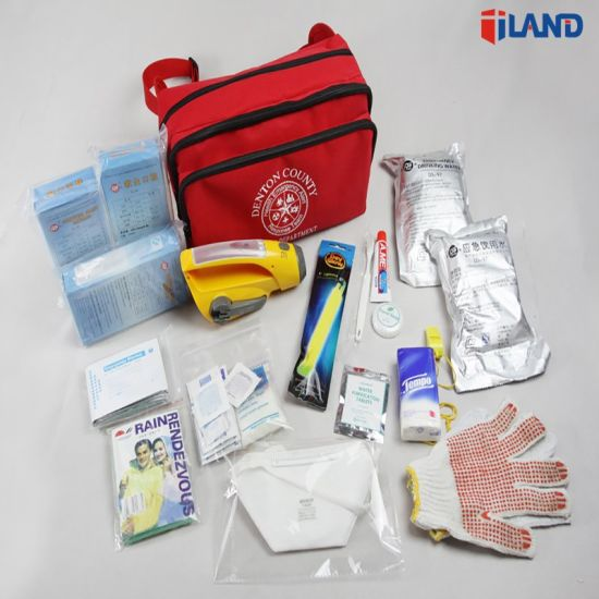 1 Person/72 Hours Multi-Fuctional Outdoor Travel Medical Emergency Survival First Aid Kit