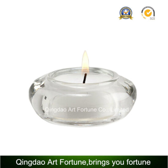 Small Glass Tealight Candle Holder Manufacturer in China pictures & photos