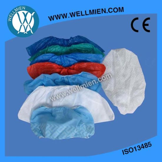 Plastic Blue CPE/PP/PE/PP+PE Shoe Cover Nonwoven Shoe Cover Boot Cover