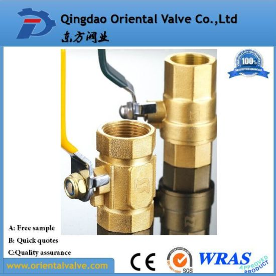 "NPT 150-300lb 3PC Bronze Ball Valve Factory Suppliers Medium Pressure 1/4"" Mini Water Brass Ball Valve pictures & photos"
