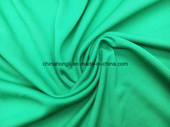 Bird-Eye Fabric 100%Poly, 140GSM, Mesh Knitting Fabric for Sport Garment with Quick Dry