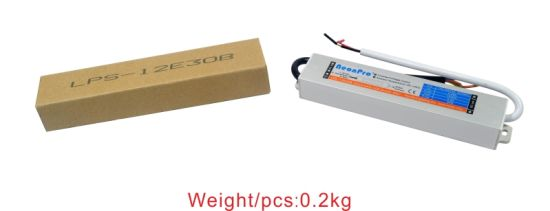 12V 30W Waterproof LED Driver for Strip Wtih CE Saso SAA pictures & photos