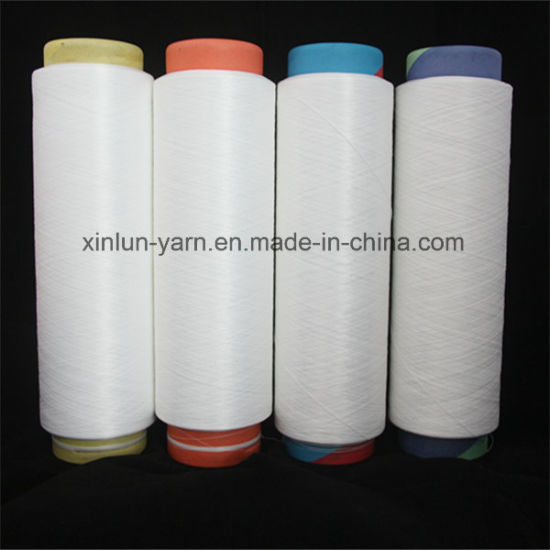Hot Sale 100% Polyester Yarn for Knitting (100d/48f Nim)