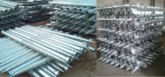 China Photovoltaic Foundations Ground Pole Anchor Utmost