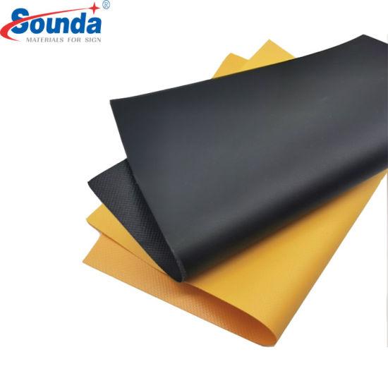 Sounda Laminated PVC Tarpaulin 1000*1000d, 9*9 for Tent and Roof