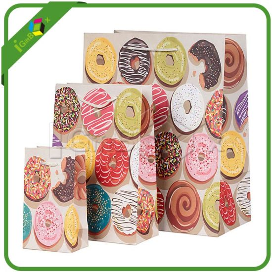 Luxury Style Custom Printed Paper Pastry Bags