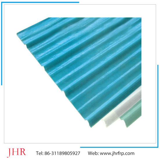 Low Price FRP GRP Fiberglass Corrugated Fiberglass Skylight Sheet