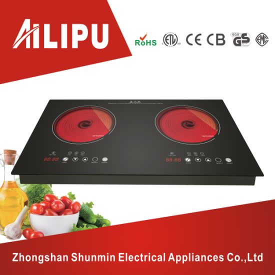 2017 New Design Appliance Dual Electric Hotplate