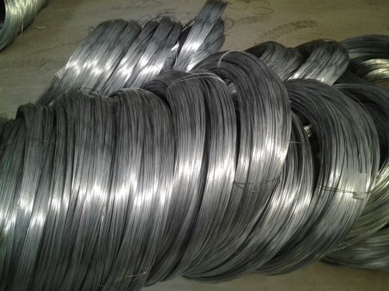 2.5 mm Galvanized High Carbon Steel Wire for Electric Fence Spring Steel Wire Flexible Duct High Tensile Strength pictures & photos