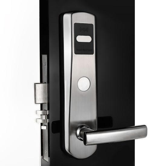 304 Stainless Steel Keyless High Security Electronic Hotel Door Lock