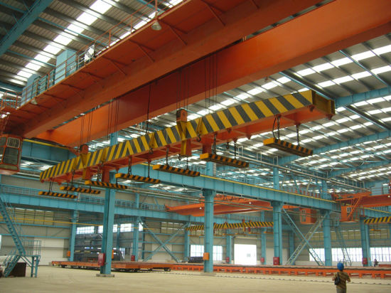15t Electric Double Girder Magnetic Overhead Crane (QC)