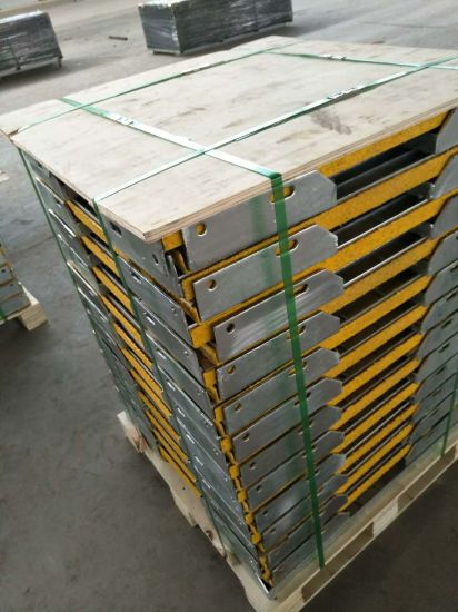 Tec-Sieve T6 Grating Stair Treads with Safety Yellow Abrasive Nosings for Steps