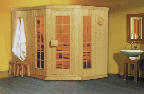 Factory Price Indoor Leisure Wood Dry Sauna Room (M-6001)