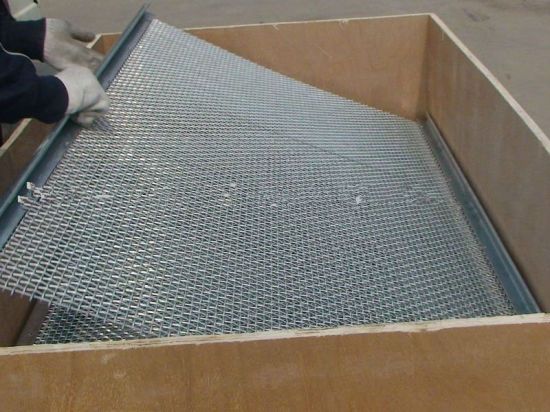 Tec-Sieve Crimped Wire Mesh for Quarries and Mining Industry