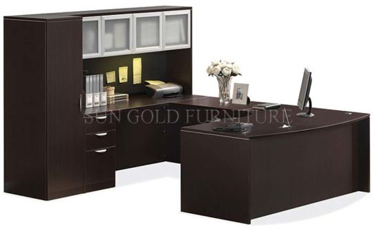 New Office Desk with Filing Cabinet