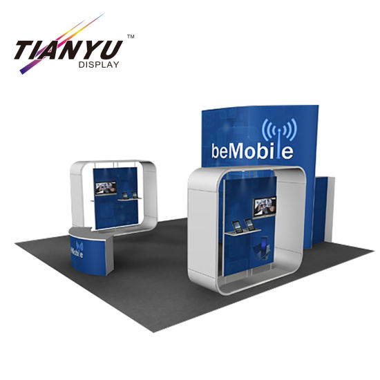 China Custom Modular Tension Fabric Trade Show Booth with