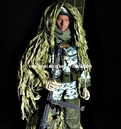 "New 12 ""Reshipment Jungle Sniper Soldier Action Figure pictures & photos"