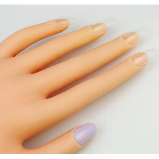 China Elegant Nail Hand Model For Nail Art Displaying And Practicing