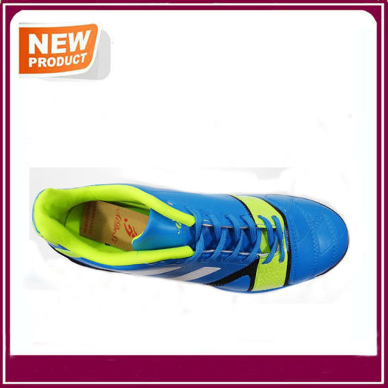 New Fashion Men′s Indoor Soccer Shoes Hot Sale pictures & photos