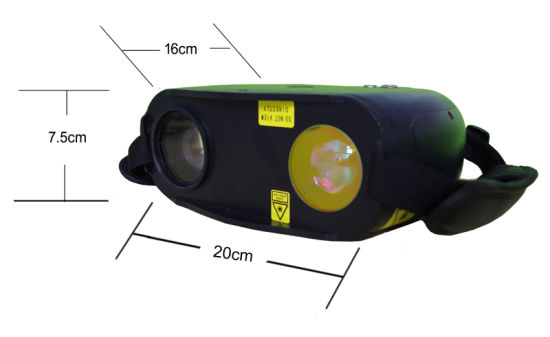 Police Use Portable Infrared Night Vision Laser Camera