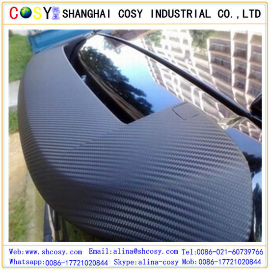 3D Carbon Fiber Vinyl with Air Bubble Free for Car Wrapping pictures & photos