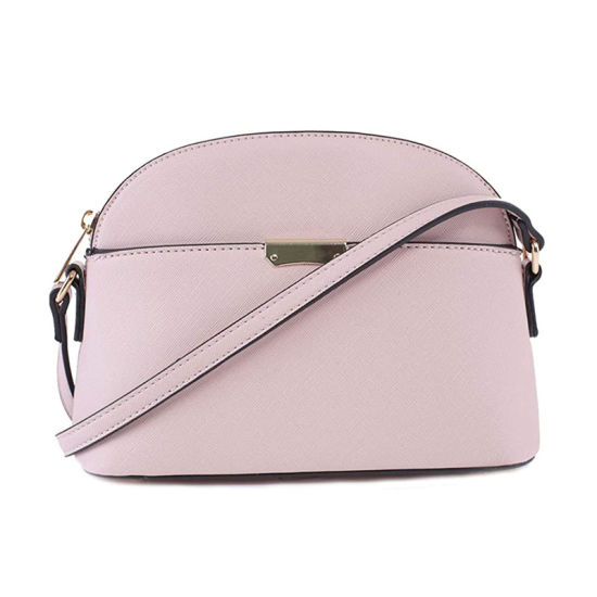 Lady Fashion PU Dome Shoulder Bag Handbag Gifts for Women