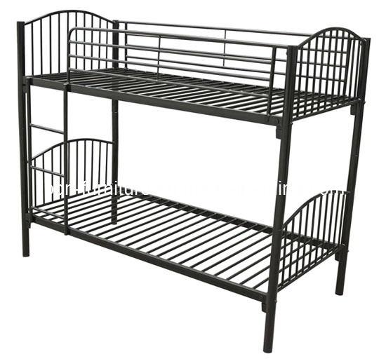 Metal/Steel Single Bunk Bed/Colored Metal Bunk Bed pictures & photos