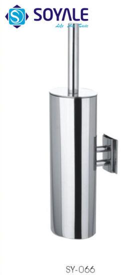 Stainless Steel Toilet Brush Holder with Polish Finishing Sy-066