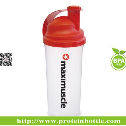 600ml FDA Grade Plastic Protein Shaker